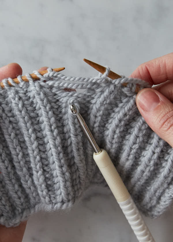 Brioche Stitch: One-Color Brioche + Fixing Mistakes | Purl Soho
