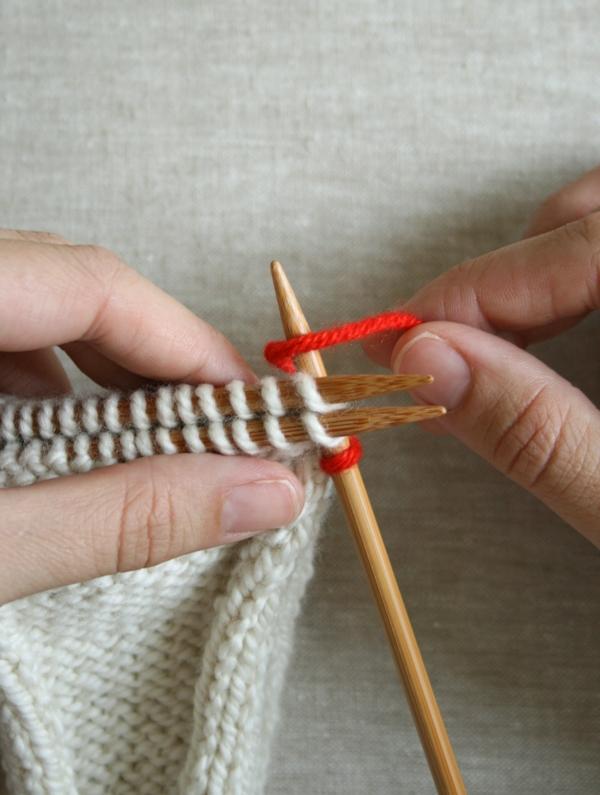 Knitting Stitches 3 Needle Bind Off : 3-Needle Bind Off Purl Soho - Page 20