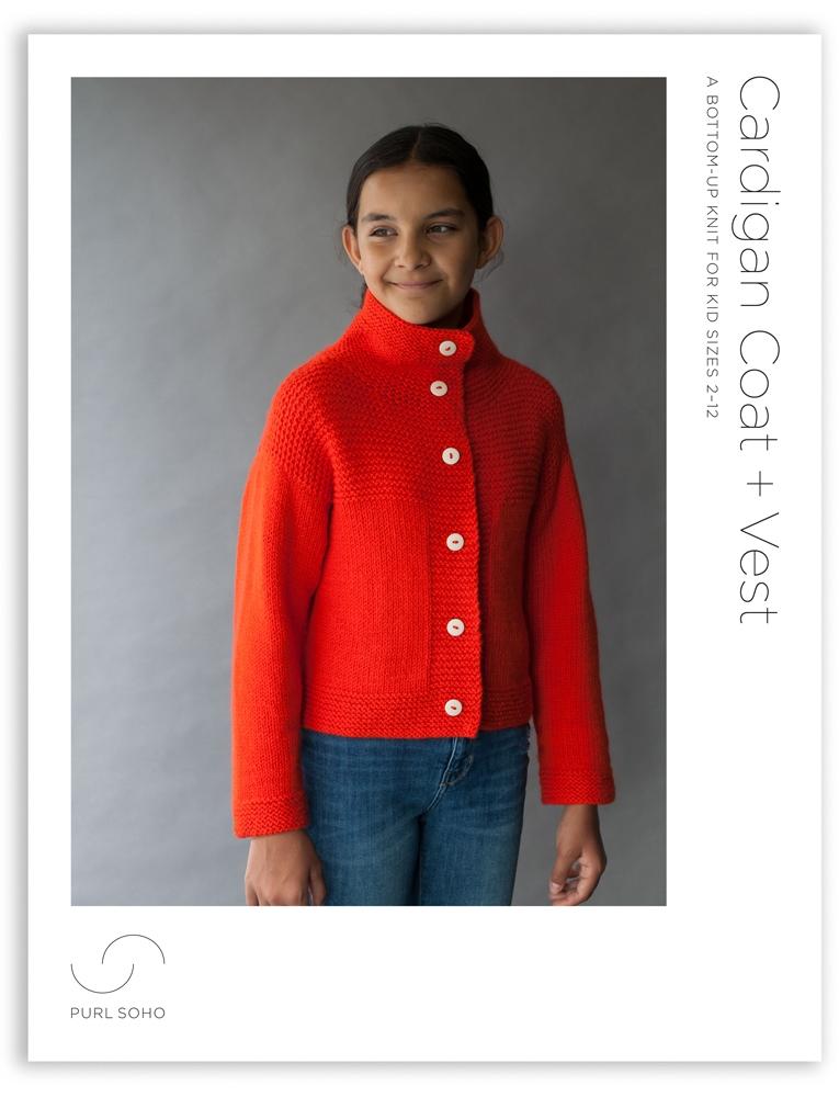 Cardigan Coat + Vest   Purl Soho