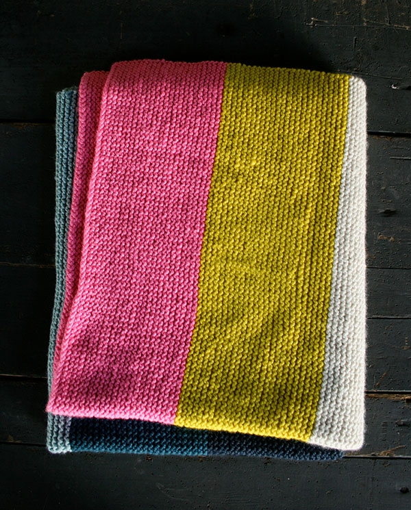 Super Easy Crib Blanket in Worsted Twist | Purl Soho