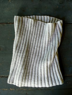 Lovely Ribbed Cowl in Worsted Twist | Purl Soho