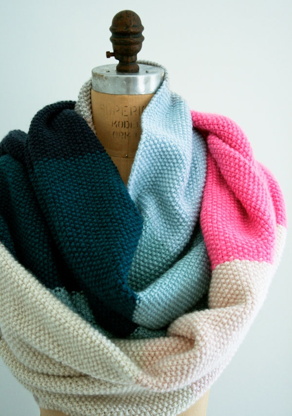 Seed Stitch Wrap in Worsted Twist | Purl Soho