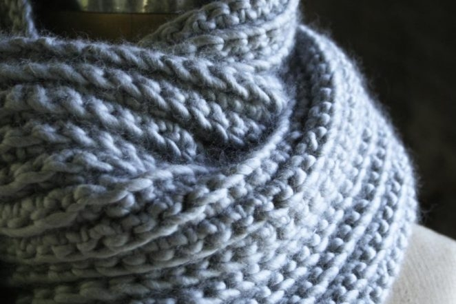 Crocheted Rib Cowl | Purl Soho
