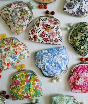 Lovely Liberty Coin Purse Kits