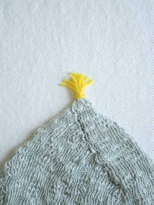 Tassel: Tiny Attached Tassel | Purl Soho