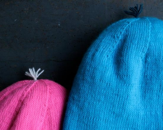 Reversible Hat in Purl Soho's New Line Weight! | Purl Soho