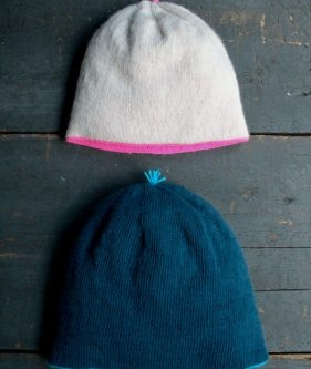 Reversible Hat in Purl Soho's New Line Weight!