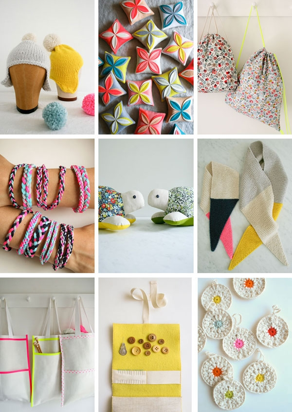 Last minute handmade gifts purl soho for Handmade things videos