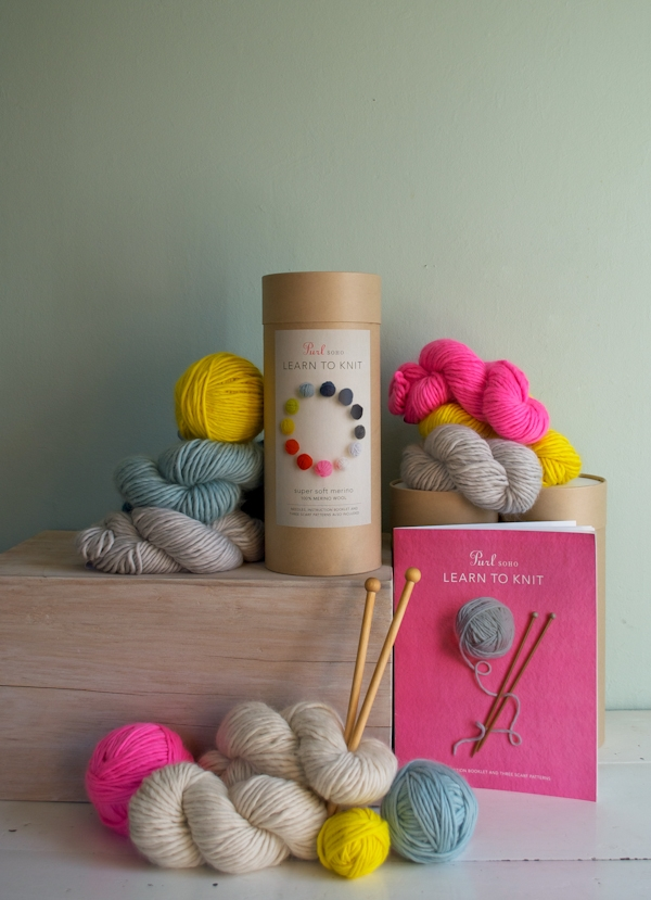New! Purl Soho's Learn To Knit Kit! | Purl Soho