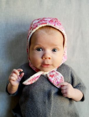 Winter Baby Bonnet | Purl Soho