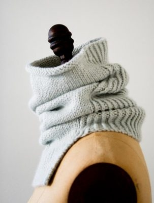 Structured Alpaca Cowl in Purl Soho's New Alpaca Pure! | Purl Soho