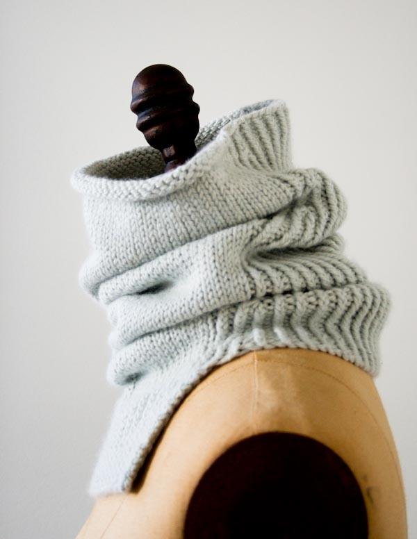 Structured Alpaca Cowl in Purl Soho's New Alpaca Pure!