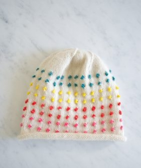Button Candy Hat