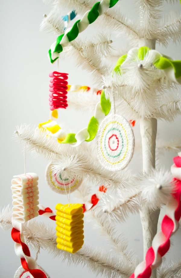 Taffy Twist Felt Garland | Purl Soho