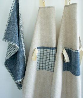 Simple Linen Apron