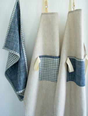 Simple Linen Apron | Purl Soho