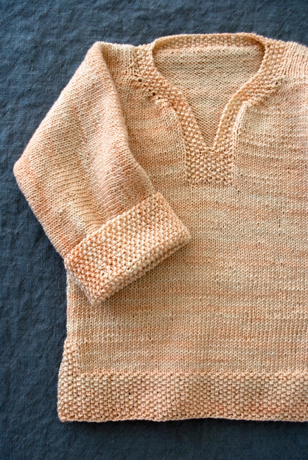 Easy Pullover For Babies Toddlers Kids Now In Three New Sizes Best Easy Baby Sweater Knitting Pattern