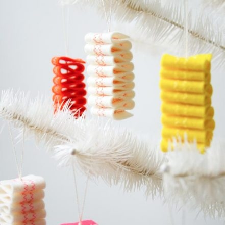 Ribbon Candy Felt Ornaments | Purl Soho