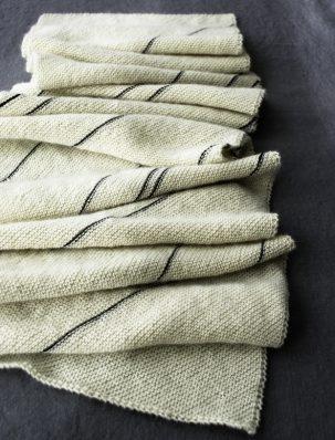 Diagonal Pinstripe Scarf | Purl Soho