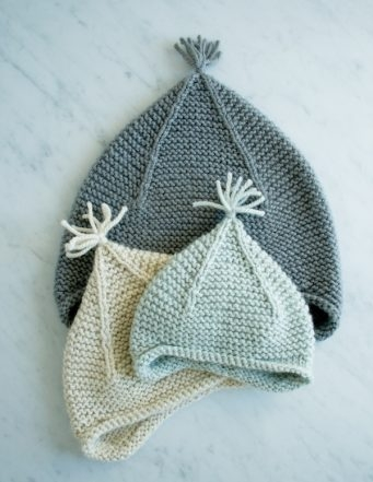 Garter Ear Flap Hat | Purl Soho