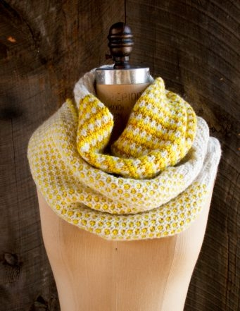 Stitch Block Cowl | Purl Soho