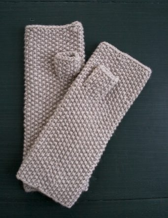 Seed Stitch Mittens + Hand Warmers | Purl Soho