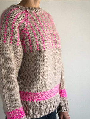 Friendly Fair Isle Sweater | Purl Soho
