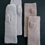 Seed Stitch Mittens + Hand Warmers