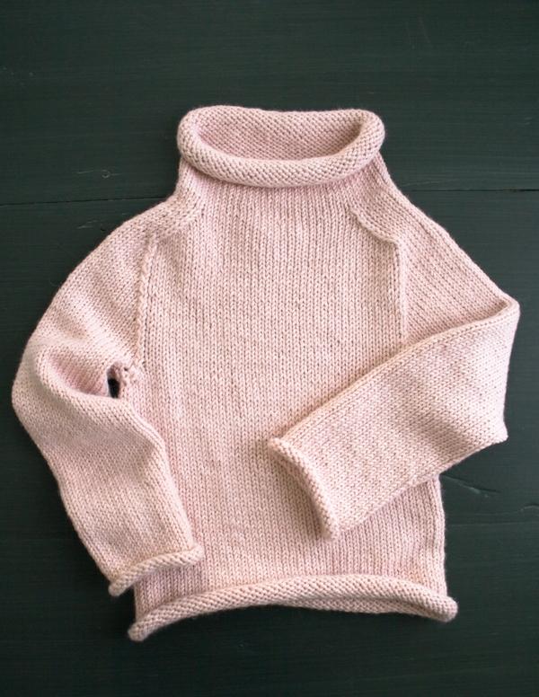 Purl Soho Pullover in Alpaca Pure