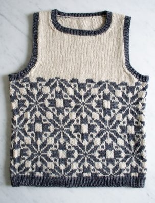 Kid's Fair Isle Vest | Purl Soho