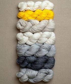 Colorblock Bias Blanket | Purl Soho