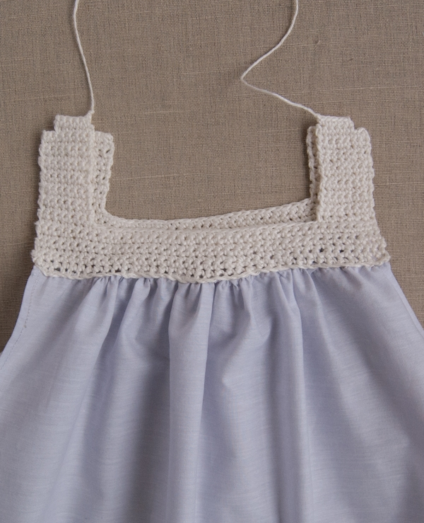 Sweet Crochet + Sew Dress | Purl Soho