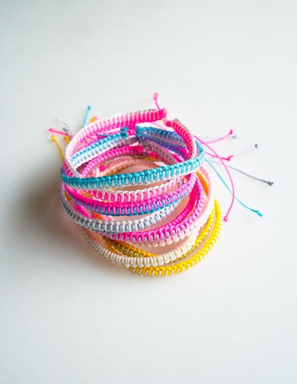43612ec729792 Breezy Friendship Bracelets | Purl Soho