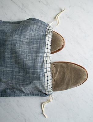 Drawstring Shoe Bags | Purl Soho