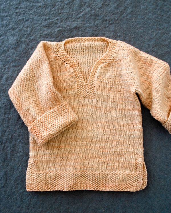 Easy Pullover for Babies, Toddlers + Kids. Now in Three New Sizes! | Purl Soho