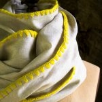 Edged Linen Wrap