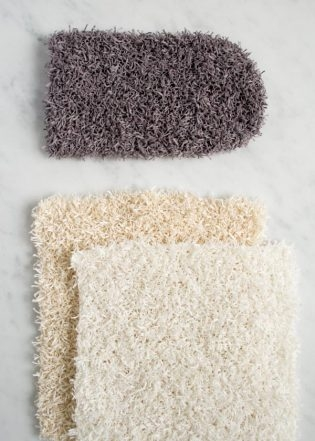 Washcloths and Scrubbing Mitt | Purl Soho