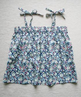 Kid's Gathered Summer Top