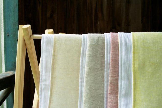 Waffle and Linen Hand Towels | Purl Soho