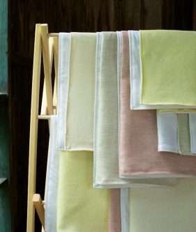 Waffle and Linen Hand Towels