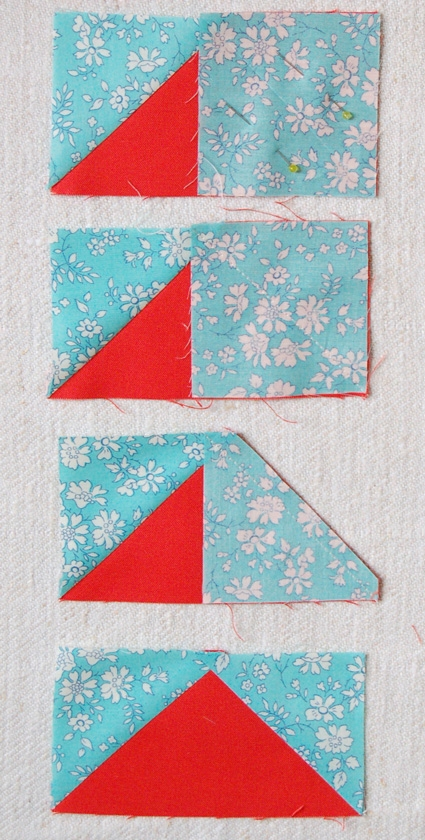 Mini Quilt of the Month, July: Flying Geese | Purl Soho