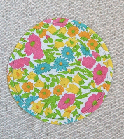 Mini Quilt of the Month, February: Liberty of London Tana Lawn Circular Applique | Purl Soho