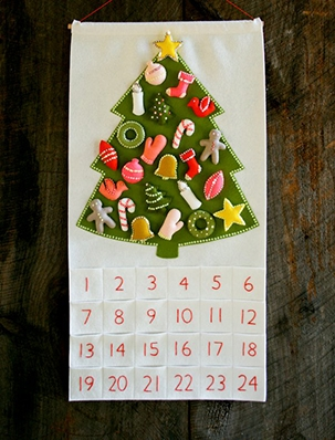 Christmas in July! Our Advent Calendar Kit and Pattern   Purl Soho