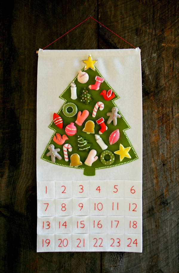 Christmas in July! Our Advent Calendar Kit and Pattern