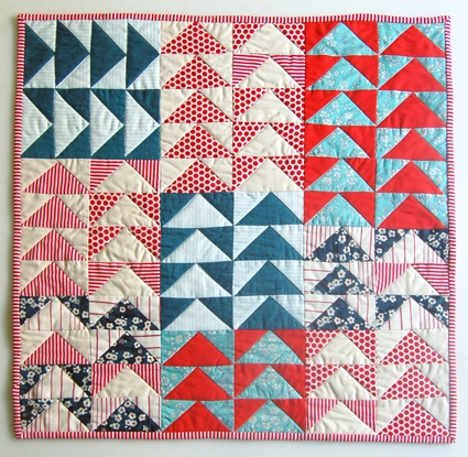 Flying Geese Block | Purl Soho