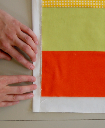 Binding a Quilt with the Backing Fabric | Purl Soho