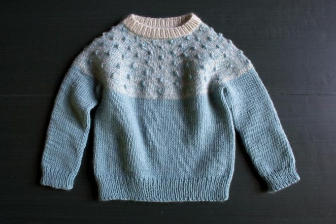 Bobble Yoke Sweater for Babies + Toddlers | Purl Soho