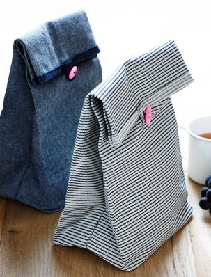 Button Lunch Bags | Purl Soho