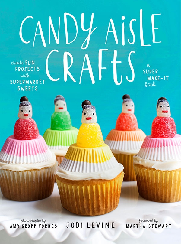 Our Favorite New Book: Candy Aisle Crafts