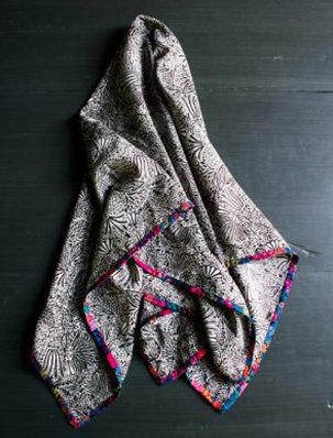 Edged Liberty Scarves | Purl Soho